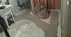 basement foundation concrete repair